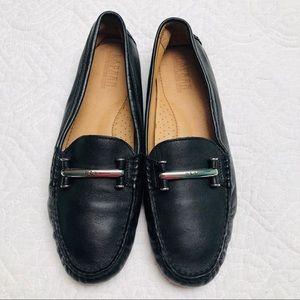 Lauren Ralph Lauren Caliana Black Driving Shoes 10